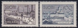 Finland   .     Yvert    251/252       .          *     .      Ongebruikt   .   /   .     Mint-hinged