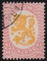 Finland    .     Yvert     82      1918-21     .          O        .        Gebruikt    .   /   .     Cancelled