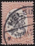 Finland    .     Yvert     120      1925-29        .          O        .        Gebruikt    .   /   .     Cancelled