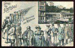 537 - AUSTRIA/ CZECH REPUBLIC Karlsbad 1910s Gruss Aus Muehlbrunn By Weil - Czech Republic