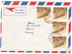 AZ73     Zimbabwe 1993 Letter From Causeway To Germany - Zimbabwe (1980-...)