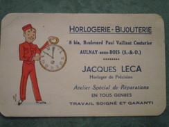 HORLOGERIE-BIJOUTERIE Jacques LECA 8 Bis, Bd Paul Vaillant Couturier - Aulnay Sous Bois