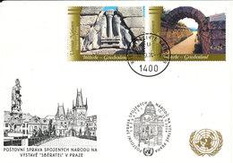 Austria UN Vienna Show Card Prague 10-12/9-2004 - Wien - Internationales Zentrum