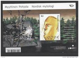Finlande 2008 Bloc Neuf N°48 Norden Mythologie