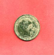 5 Centimos , ESPAGNE , Bronze , 1877 OM , N° KM # 674 , N° Y69 - Münzen Der Provinzen