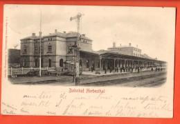 IAJ-21  Bahnhof Herbesthal Gare . Pionier. Gelaufen In 1903, Nach Roubaix FR - Lontzen
