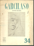GARCILASO Juventud Creadora Verso Y Prosa N° 34, Febrero 1946 - Revues & Journaux