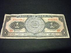 MEXIQUE 1 Pesos 10/05/1967, Pick N° 59 J ,MEXICO - Mexiko