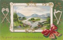 Saint Patrick's Day With Upper Lake Killarney 1912 - Saint-Patrick's Day
