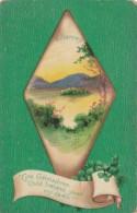 Saint Patrick's Day With Landscape Scene 1912 Clapsaddle - Saint-Patrick's Day