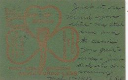 Saint Patrick's Day With Shamrock 1905 - Saint-Patrick's Day