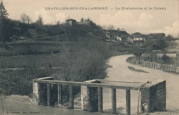 G42 - 01 - CHATILLON-SUR-CHALARONNE - Ain - La Chalaronne Et Le Coteau - Châtillon-sur-Chalaronne