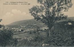 G42 - 01 - COLIGNY-LE-VIEUX - Ain - Château Du Châtaignat - Châtillon-sur-Chalaronne