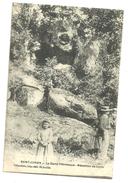 CPA St Junien, Haute-Vienne, La Glane Pittoresque Médaillon De Corot, Circulée En 1918 - Saint Junien