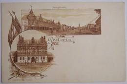 PRETORIA - Marktgebouwen - Rechtsgebouwen - J H Bussy Amst Pretoria (début Du XXe Siècle) - South Africa