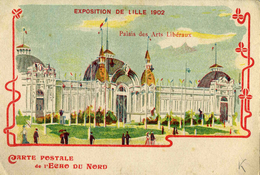 NORD    /   59   / LILLE  /    EXPOSITION DE LILLE 1902       CPA 9 X 14