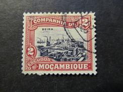 1918/31 - MOZAMBIQUE COMPANY - VIEW OF BEIRA - SCOTT 144 A16 2E - Mozambique