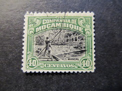 1918/31 - MOZAMBIQUE COMPANY - MANGROVES - SCOTT 135 A24 40C - Mozambique