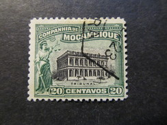 1918/31 - MOZAMBIQUE COMPANY - COURT HOYSE AT BEIRA - SCOTT 131 A22 20C - Mozambique