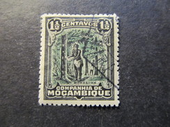 1918/31 - MOZAMBIQUE COMPANY - TAPPING RUBBER TREE  SCOTT 112 A12 1 1/2C - Mozambique