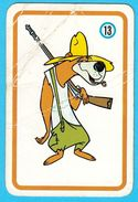HANNA-BARBERA  - Yugoslav Vintage Playing Card No. 13 Issued 1970's By Favorit * Carte à Jouer Spielkarte - Cartes à Jouer