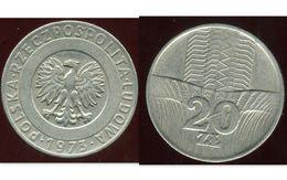POLAND POLOGNE 20 Zlotych 1973 - Pologne