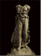 Napoli / Neapel  -  Archeologie Museo Nazionale  -  Statua Di Nike  -  Ansichtskarte Ca.1970    (6610) - Napoli (Nepel)