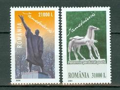 Romania 2004 Mi 5863/5864**  Yv. 4916/4917** Cat. Yv. € 4,50
