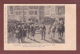 Vaud - Centenaire Vaudois 1903 - Arrestation Major Davel - Place De La PALUD à LAUSANNE