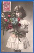 Kind; Enfant; Mädchen; Child; Girl; Fille; 1909 Turkey Nach Grece Mit 20 Paras - Ohne Zuordnung