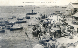 Maroc - Casablanca - Le Port Et La Rade - Très Animés - Casablanca