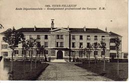 94 Vitry Villejuif N°7064 E.M Ecole Départementale Enseignement Professionnel Des Garçons 1956 Etéb Malcuit Paris - Villejuif