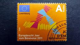 Luxemburg 1903 Oo/ESST, Europäisches Jahr Der Freiwilligentätigkeit