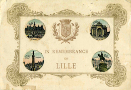 NORD    /   59   / LILLE  /    IN REMEMBRANCE OF  LILLE     CPA 9 X 14