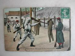 MILITARIA - Infanterie - Escrime à La Baïonnette - Casernes