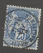 FRANCE - N°YT 79 OBLITERE CAD NICE? DU 21/05/1878 - COTE YT : 8€ - - 1876-1898 Sage (Type II)