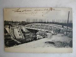 MILITARIA - Non Identifiée - Un Pont Détruit - War 1914-18