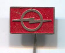 OPEL - Car, Auto, Automotive, Vintage Pin, Badge, Abzeichen - Opel