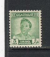IRAK - Y&T N° 159A* - Roi Faïçal II - Irak