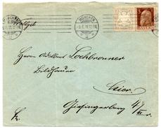 - ALLEMAGNE / BAVIERE - Lettre MÜNCHEN Pour TRIER 9.6.1911 - 2 P. Gris Armoiries + 3 P. Brun Luitpold - A ETUDIER - - Germany