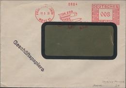 DEUTSCHES REICH - FREISTEMPEL TITAN ESG FRANKFURT/MAIN 1935 - Allemagne