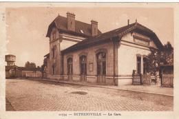 CARTE POSTALE   BETHENIVILLE 51  La Gare - Bétheniville