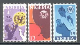 Nigeria 1971 - Michel 252 - 254 **