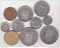 Netherlands - 10 Coins Set - Netherlands