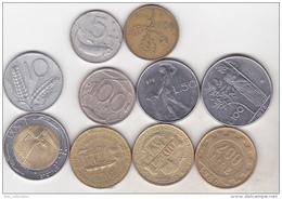Italy - 10 Coins Set - Italy