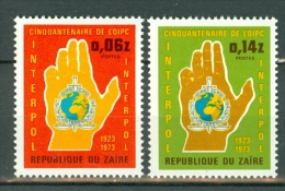 Zaïre 1973 OBP/COB 835/36**   MNH - Zaire