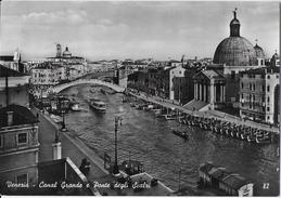 VENETO - VENEZIA - CANAL GRANDE  PONTE DEGLI SCALZI - B/N - ED. ARDO VENEZIA - VIAGGIATA 1957 - Venezia