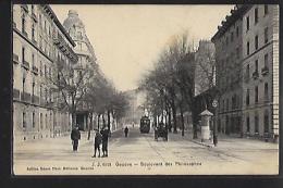 Genève - Boulevard Des Philosophes - Ed. Jullien JJ 6323 - GE Genève