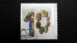 Luxemburg 1934 Oo/ESST, 10 Jahre Euro-Bargeld