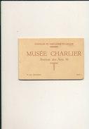 BRUXELLES / BRUSSEL / CARNET DU MUSEE CHARLIER - Musei